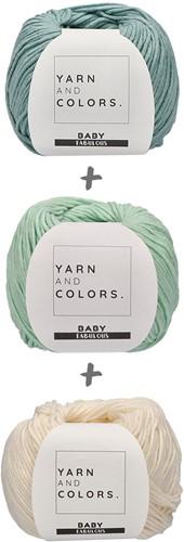 Yarn and Colors Spring Flowers Tee Haakpakket XL 1 Glass