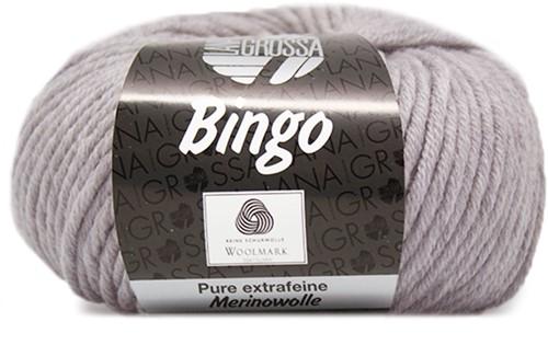 Lana Grossa Bingo 1 Light Grey Mottled
