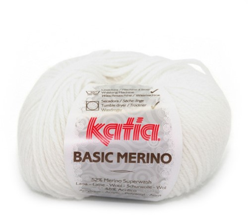 Katia Basic Merino 1 White