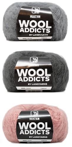 Wooladdicts Romeo Loopsjaal Breipakket 1