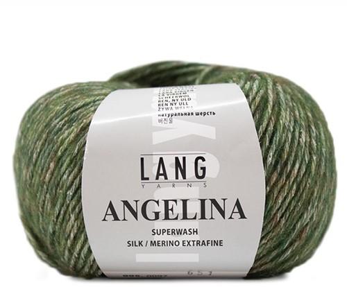 Angelina Trui Breipakket 1 S/M Olive