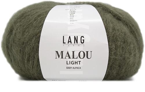 Malou Light Ajour Trui Breipakket 1 XL Olive