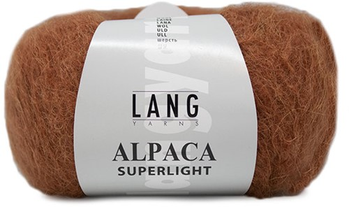 Alpaca Superlight Trui Breipakket 1 L/XL Rust