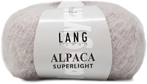 Alpaca Superlight Trui Breipakket 2 L/XL Light Grey
