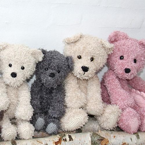 Go Handmade Haakpatroon Teddy Family