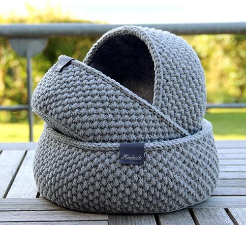 Haakpatroon Moss Stitch Mandje Go Handmade