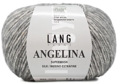 Angelina Ribbeltrui Breipakket 2 L Light Grey