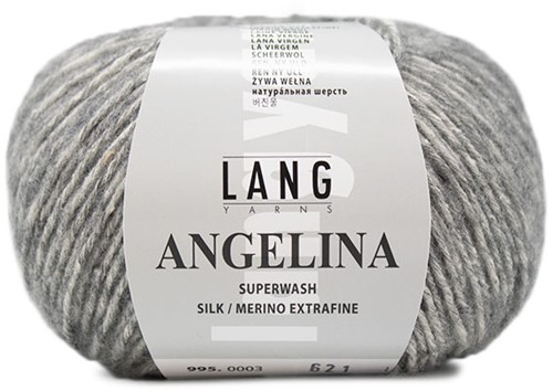 Angelina Ribbeltrui Breipakket 2 M Light Grey