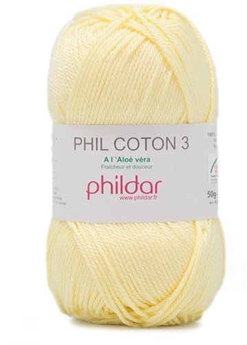 Phildar Phil Coton 3 2019 Poussin