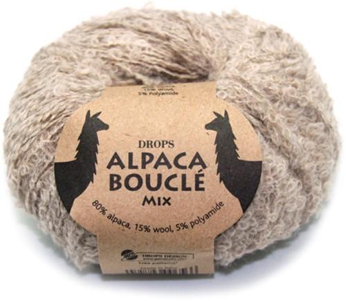 Drops Alpaca Bouclé Mix 2020 Lichtbeige
