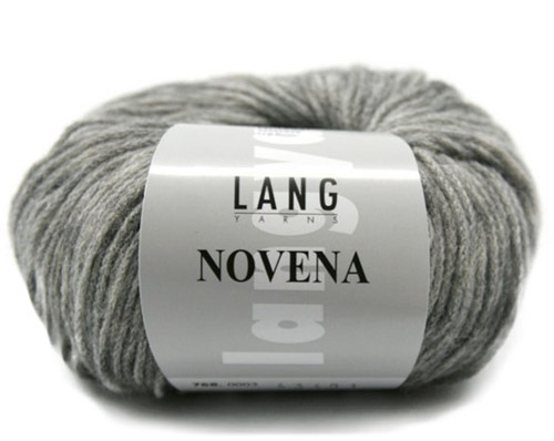 Novena Kabelvest Breipakket 2 L Light Grey