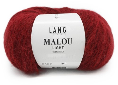 Malou Light Trui Breipakket 1 S/M Red