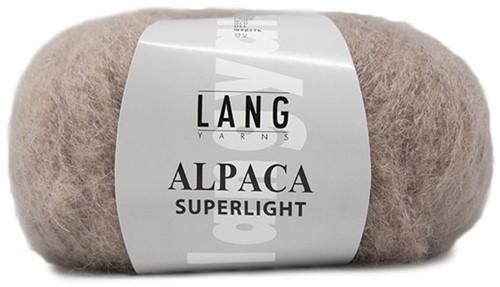 Alpaca Superlight Ajour Vest Breipakket 1 XL Beige