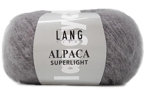 Alpaca Superlight Ajour Vest Breipakket 2 M/L Grey