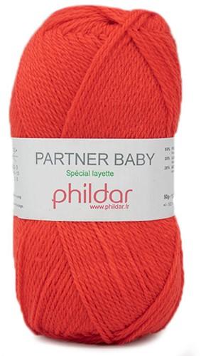 Phildar Partner Baby 2038 Vermillon