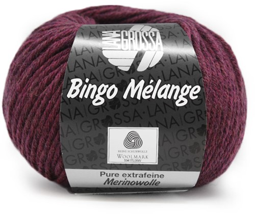 Lana Grossa Bingo Melange 203 Purple Mottled