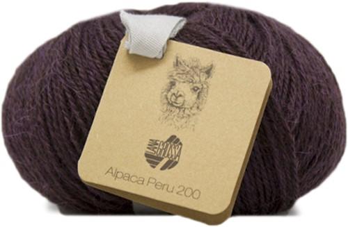 Lana Grossa Alpaca Peru 200 206 Blackberry