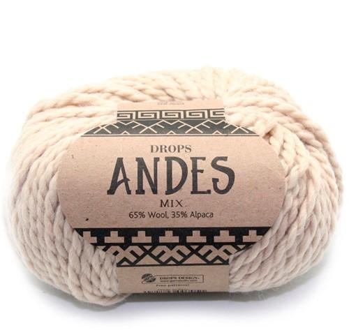 Drops Andes Mix 206 Lichtbeige