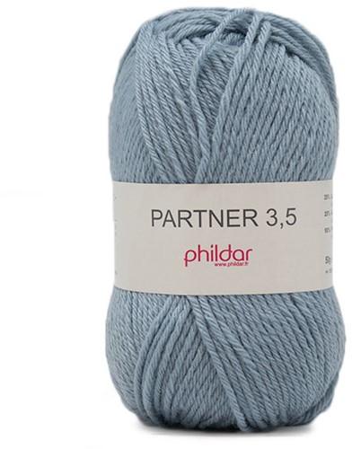 Phildar Partner 3.5 2089 Denim