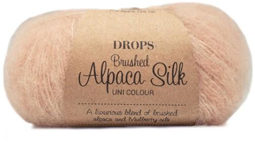 Drops Brushed Alpaca Silk Uni Colour 20 Pink Sand