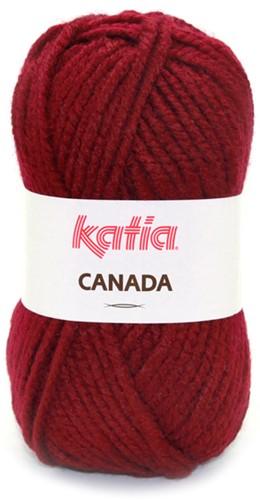 Katia Canada 20 Burgundy red