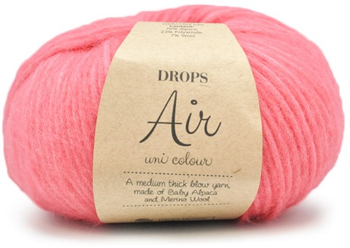 Drops Air Uni Colour 20 Rose