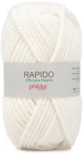 Phildar Rapido 2109 Ecru