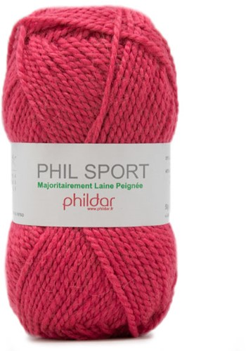 Phildar Phil Sport 2149 Fuchsia