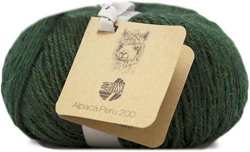 Lana Grossa Alpaca Peru 200 214 Traditional Green