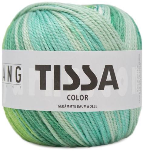 Lang Yarns Tissa Color 218 Green