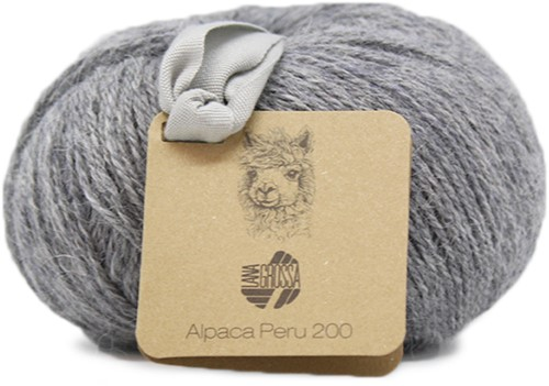 Lana Grossa Alpaca Peru 200 218 Light Grey