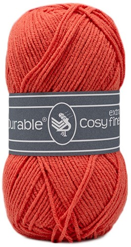 Durable Cosy Extra Fine 2190 Coral