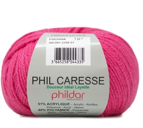 Phildar Phil Caresse 2198 Fuchsia