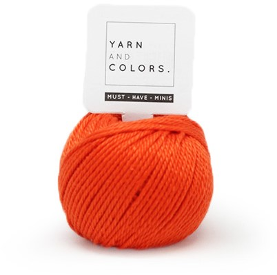 Yarn and Colors Must-have Minis 022 Fiery Orange