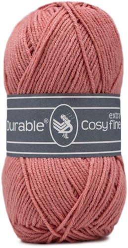 Durable Cosy Extra Fine 225 Vintage Pink