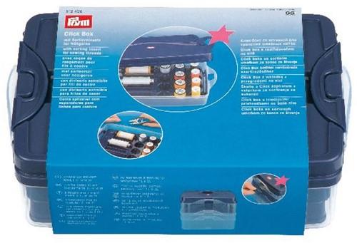 Prym Click box met sorteerset voor naaigaren (kunststof)