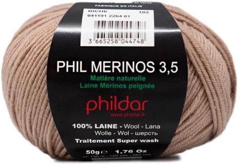 Phildar Phil Merinos 3.5 2264 Biche
