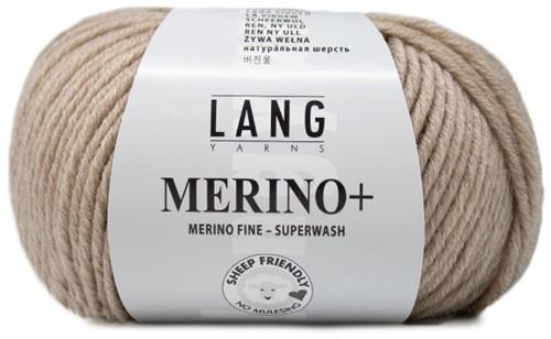 Lang Yarns Merino+ 226 Beige Mélange