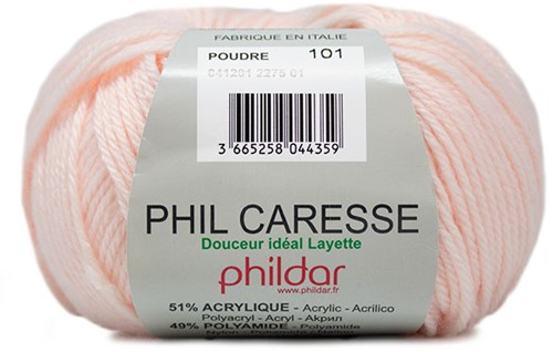 Phildar Phil Caresse 2275 Poudre