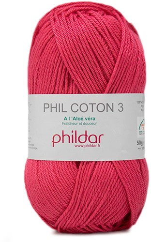 Phildar Phil Coton 3 2275 Pink
