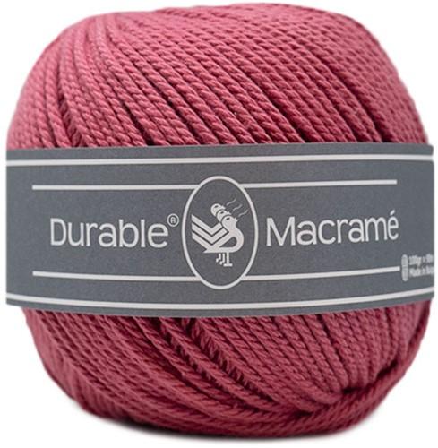Durable Macramé 228 Raspberry