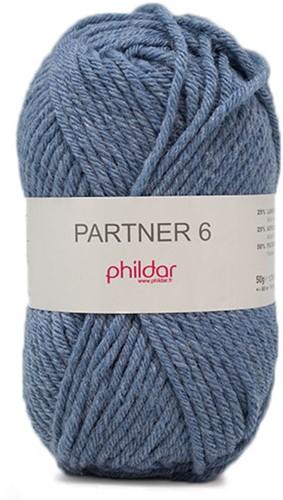 Phildar Partner 6 2297 Jeans Chiné
