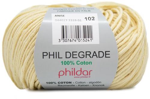 Phildar Phil Degrade 2319 Anise