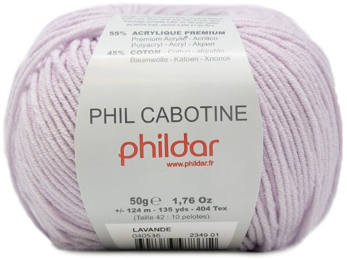 Phil Cabotine Kindervest Breipakket 2 8 jaar Lavande