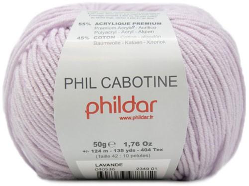 Phil Cabotine Kindervest Breipakket 2 6 jaar Lavande