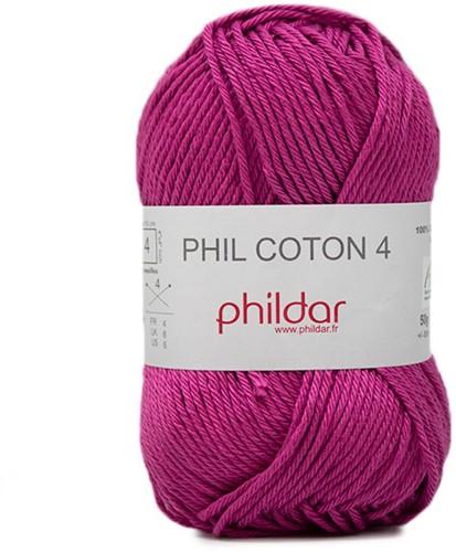 Phildar Phil Coton 4 2349 Magenta