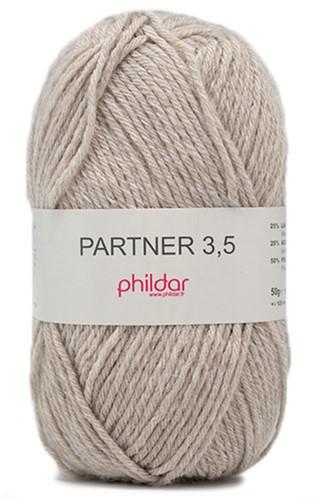 Phildar Partner 3.5 2369 Naturel Chiné