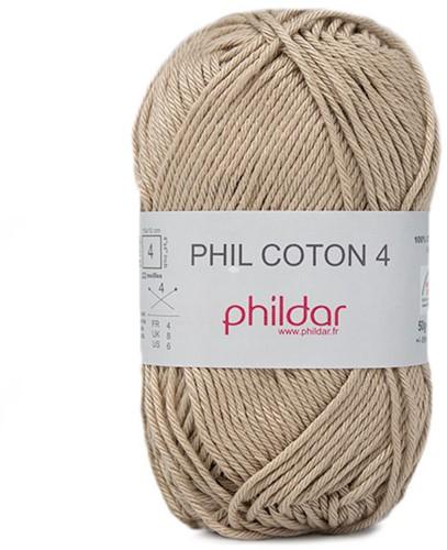 Phildar Phil Coton 4 2369 Dune