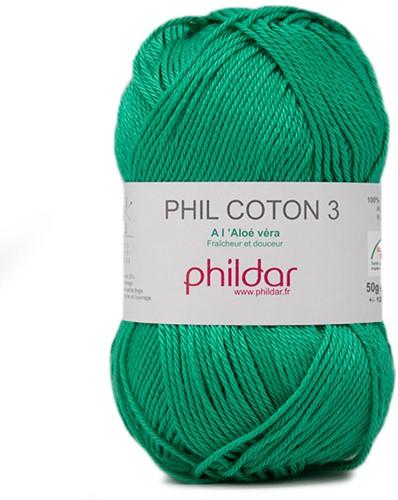 Phildar Phil Coton 3 2394 Emeraude