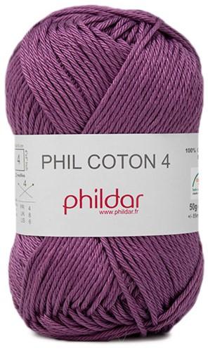 Phildar Phil Coton 4 2395 Amarante